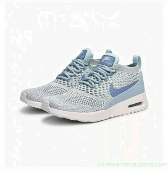 7c1d8b52a0 Nike Shoes | New Air Max Thea Ultra Flyknit Blue Sneakers | Poshmark